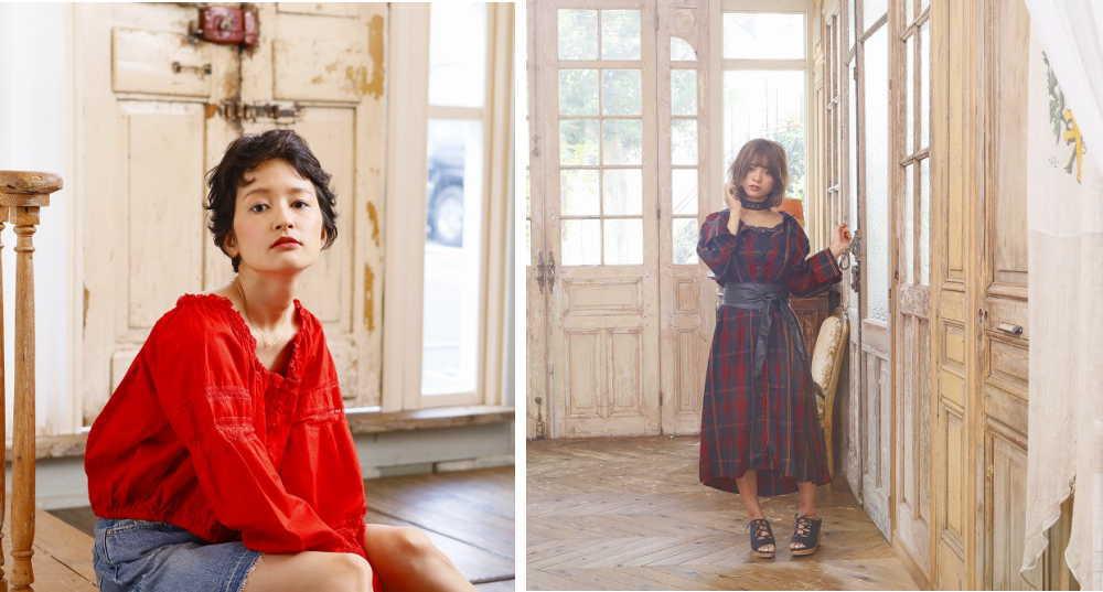 Autumn Winter Trend Styles撮影-3